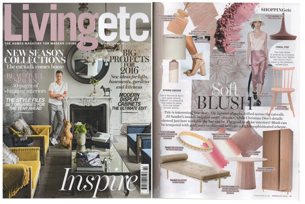 Living Etc magazine with Lindsey Lang Tiles