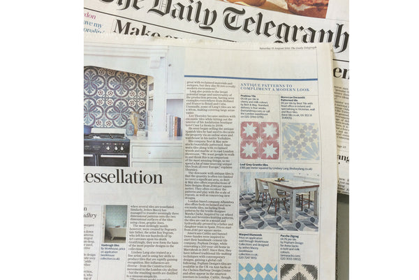 The Daily Telegraph - Tiles feature