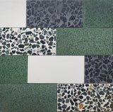 Greenfinch | Rectangle - Terrazzo Tile (sample)
