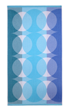 Ellipse Beach Towel in Almalfi Blue