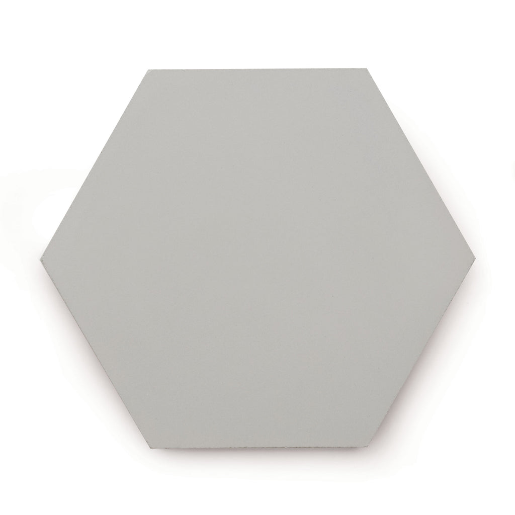 Mid Grey Cement | Hexagon - Tile (sample)