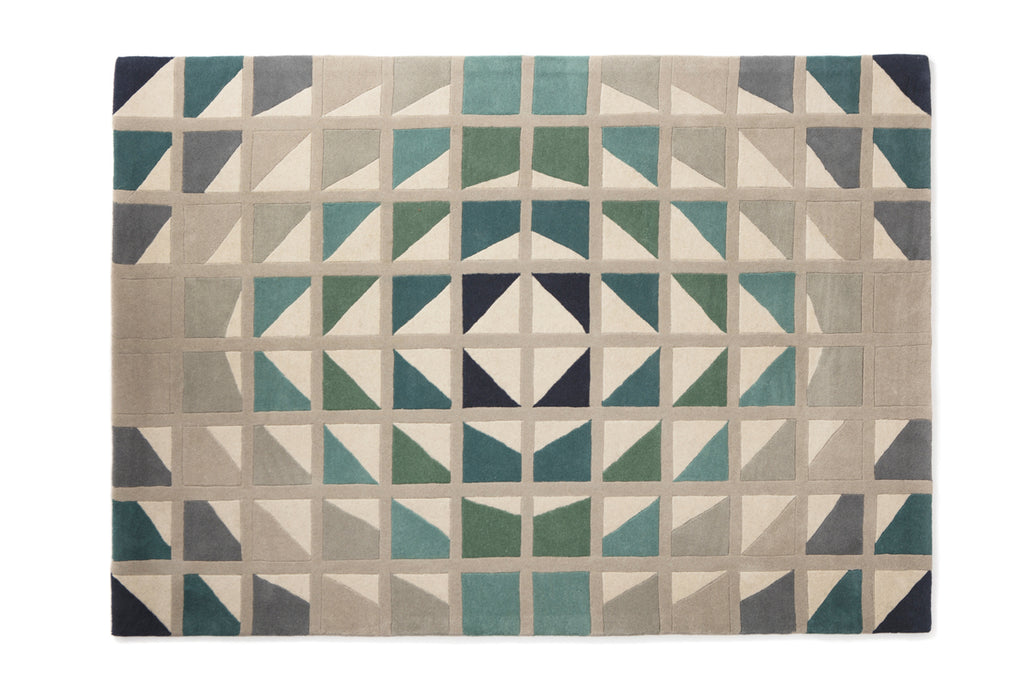 Crystal wool rug
