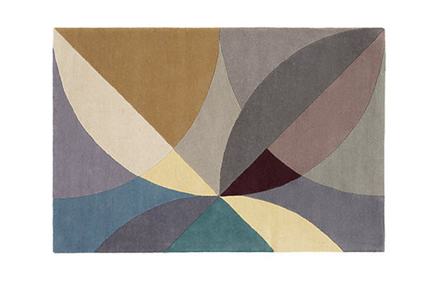 Pinpoint wool rug