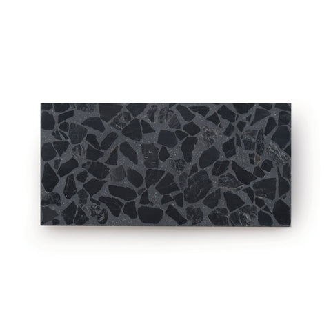 Raven | Rectangle - Terrazzo Tile (sample)