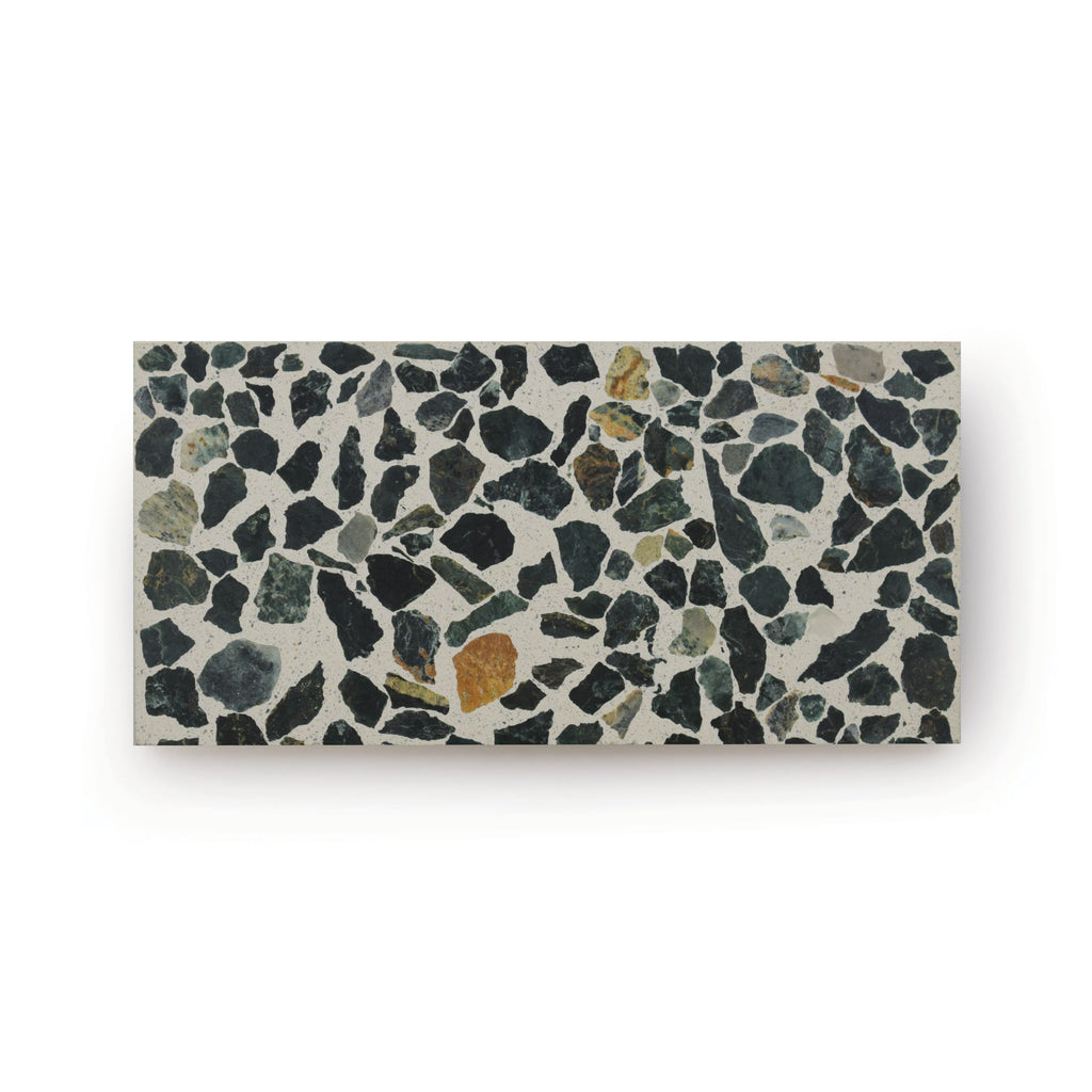 Royal Lichen | Rectangle - Terrazzo Tile (sample)