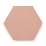 Baby Pink | Hexagon - Tile (sample)
