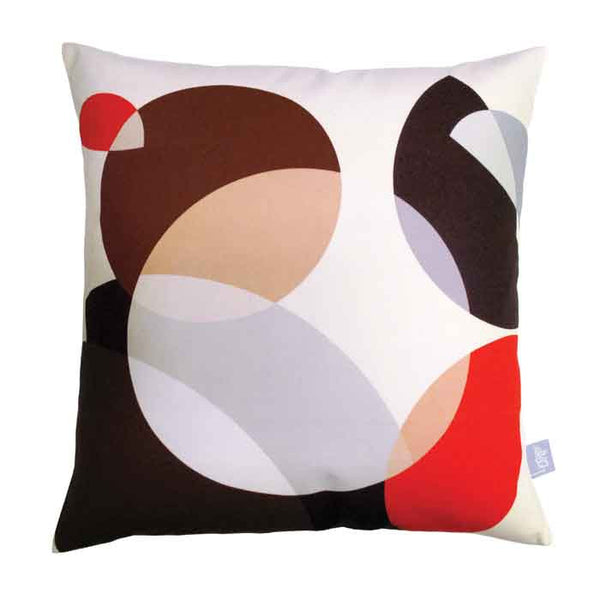 Welsummer Ellipse - Square Cushion (as seen in Living Etc.)