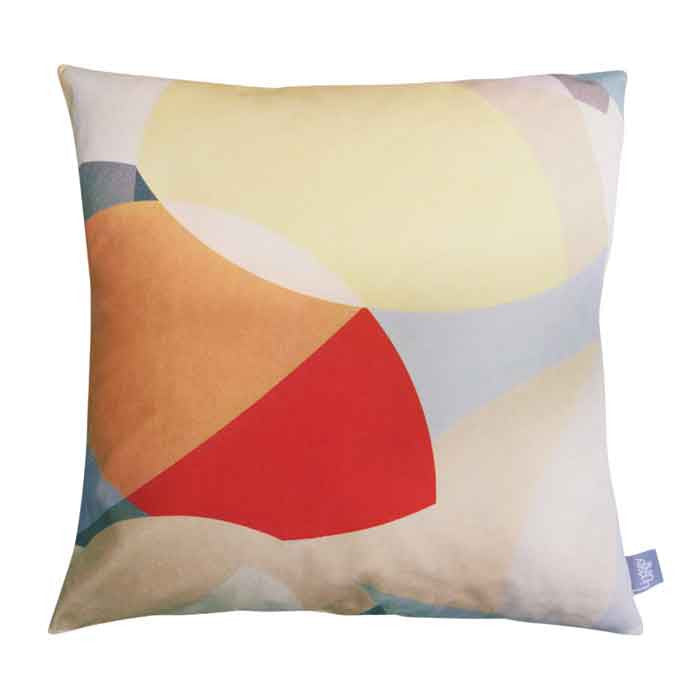 Wildflower Field - Square Cushion