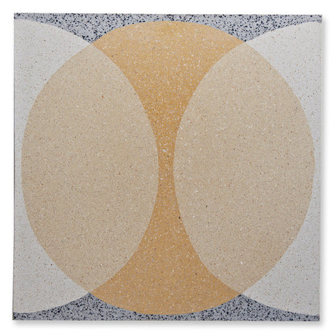 'Double Ellipse' yellow granito (as seen in Living Etc.)