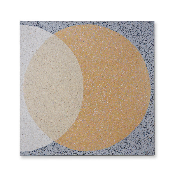 'Ellipse' yellow granito
