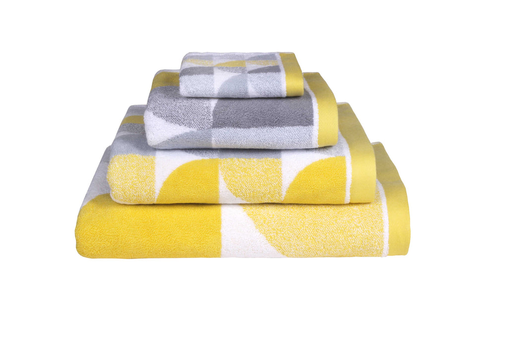 Scallop Bath Linen in Yellow