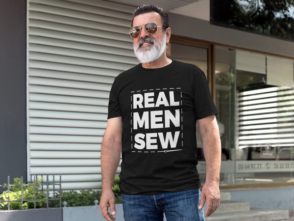 'Real Men Sew' T-Shirt