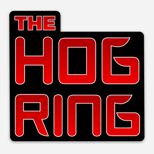 'The Hog Ring' Small Logo Sticker