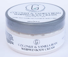 Load image into Gallery viewer, Coconut & Vanilla Bean Whipped Body Cream