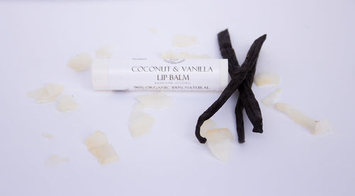 Coconut & Vanilla Cream Lip Balm