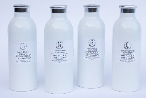 Dry Shampoo - 100% Natural with pure bamboo extract