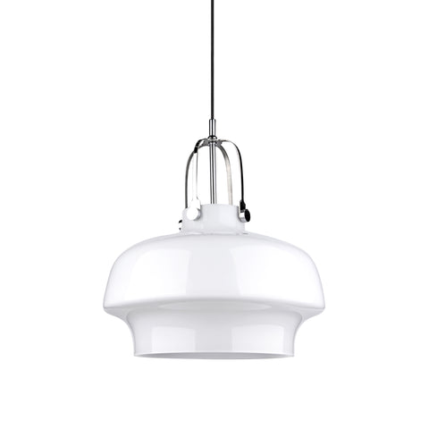 Space Copenhagen Pendant Lamp SC7 For & Tradition with White Glass - Replica - The Lighting Club - Perth - Lighting