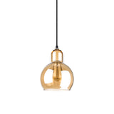 Mega Bulb Amber Pendant Lamp - Replica - The Lighting Club - Perth - Lighting