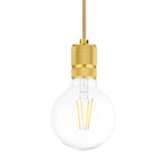 Classic Single Light Pendant in Yellow - The Lighting Club - Perth - Lighting