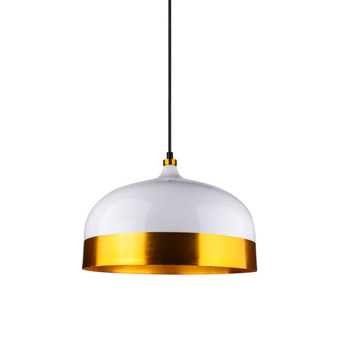 Dome Pendant Lamp in White - The Lighting Club - Perth - Lighting