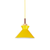 Nordic Cone Shaped Pendant Lamp in Yellow - The Lighting Club - Perth - Lighting