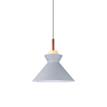 Nordic Cone Shaped Pendant Lamp in Grey - The Lighting Club - Perth - Lighting