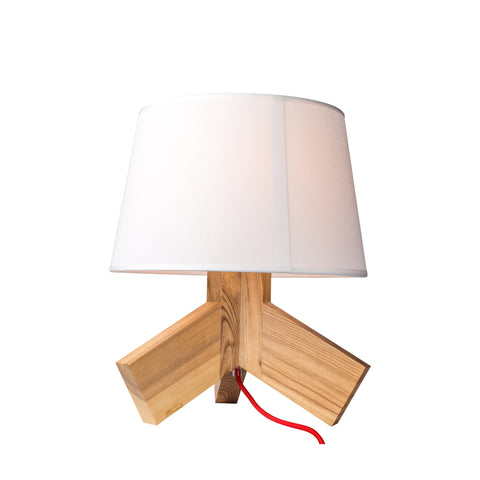 Blu Dot Rook Table Lamp in White - Replica - The Lighting Club - Perth - Lighting
