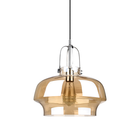 Space Copenhagen Pendant Lamp SC7 For & Tradition with Amber Glass - Replica - The Lighting Club - Perth - Lighting