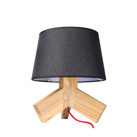 Blu Dot Rook Table Lamp in Black - Replica - The Lighting Club - Perth - Lighting