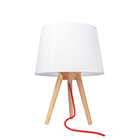 Nordic Wooden Tripod Table Lamp - The Lighting Club - Perth - Lighting