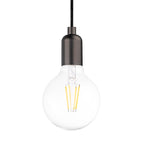 Rounded Top  Single Light Pendant in Pearl Black - The Lighting Club - Perth - Lighting