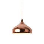 Shinny Rose Gold Pendant Lamp - Type C - The Lighting Club - Perth - Lighting