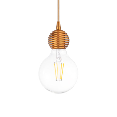Olive Single Light Pendant in Gold - The Lighting Club - Perth - Lighting