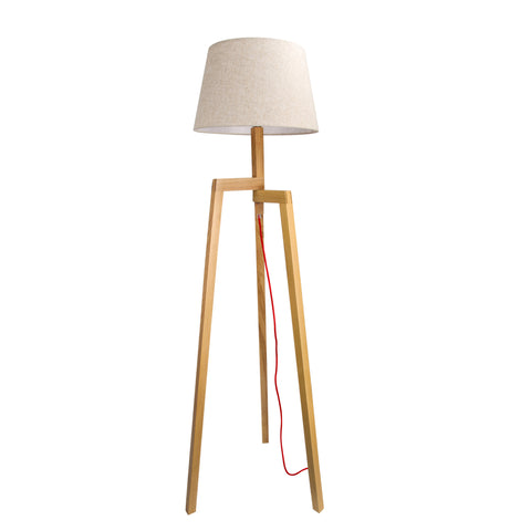 Natural Tripod Floor Lamp - The Lighting Club - Perth - Lighting