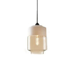 Contemporary Glass Pendant Lamp in White - Type B - The Lighting Club - Perth - Lighting
