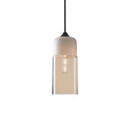 Contemporary Glass Pendant Lamp in White - Type A - The Lighting Club - Perth - Lighting