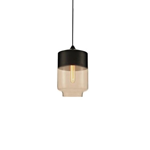 Contemporary Glass Pendant Lamp in Black - Type B - The Lighting Club - Perth - Lighting