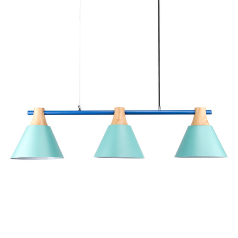 Scandinavian 3-shades Pendant Lamp in Green - The Lighting Club - Perth - Lighting