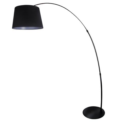 Modern Design Floor Lamp in Black - The Lighting Club - Perth - Lighting