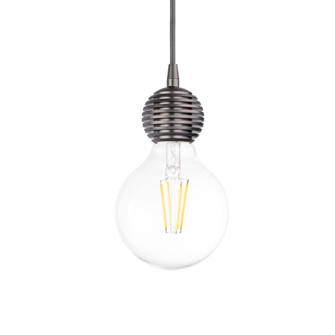 Olive Single Light Pendant in Grey - The Lighting Club - Perth - Lighting