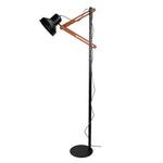 Scandinavian Adjustable Black Floor Lamp - The Lighting Club - Perth - Lighting