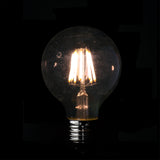 8 Watt G80 Filament LED Bulb (E27) 2700K CLEAR - The Lighting Club - Perth - Lighting