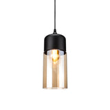 Contemporary Glass Pendant Lamp in Black - Type A - The Lighting Club - Perth - Lighting