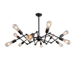 Sputnik Elliptical Filament Chandelier 12 Light - Replica - The Lighting Club - Perth - Lighting