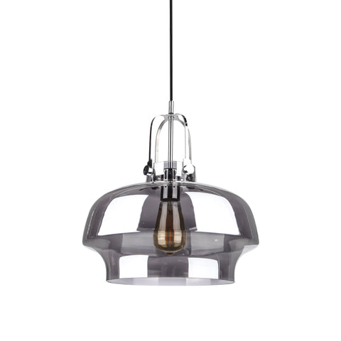 Space Copenhagen Pendant Lamp SC7 For & Tradition with Smokey Grey Glass - Replica - The Lighting Club - Perth - Lighting