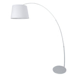 Modern Design Floor Lamp in White - The Lighting Club - Perth - Lighting