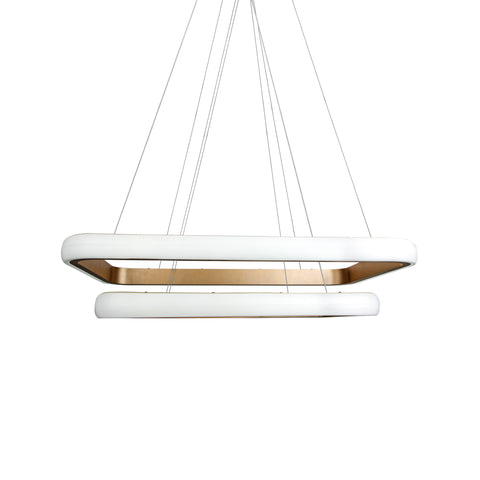 Rectangle LED Pendant Lamp - The Lighting Club - Perth - Lighting