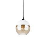 Contemporary Glass Pendant Lamp in White - Type D - The Lighting Club - Perth - Lighting