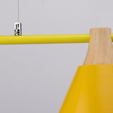 Scandinavian 3-shades Pendant Lamp in Yellow - The Lighting Club - Perth - Lighting