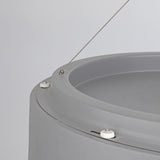 Grey Drum LED Pendant Lamp - The Lighting Club - Perth - Lighting